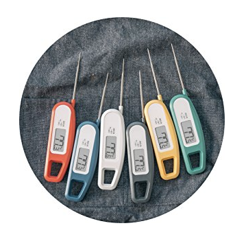 Best BBQ Accessories Lavatools Meat Thermometers in 6 different colors