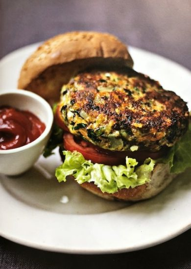 best veggie burger with bun