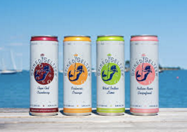 4 cans of Spiked Seltzer in 4 flavors