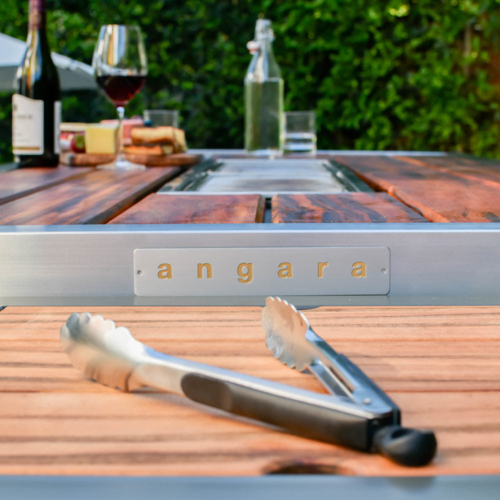 surface shot of iBBQ's Angara Maximus grill table