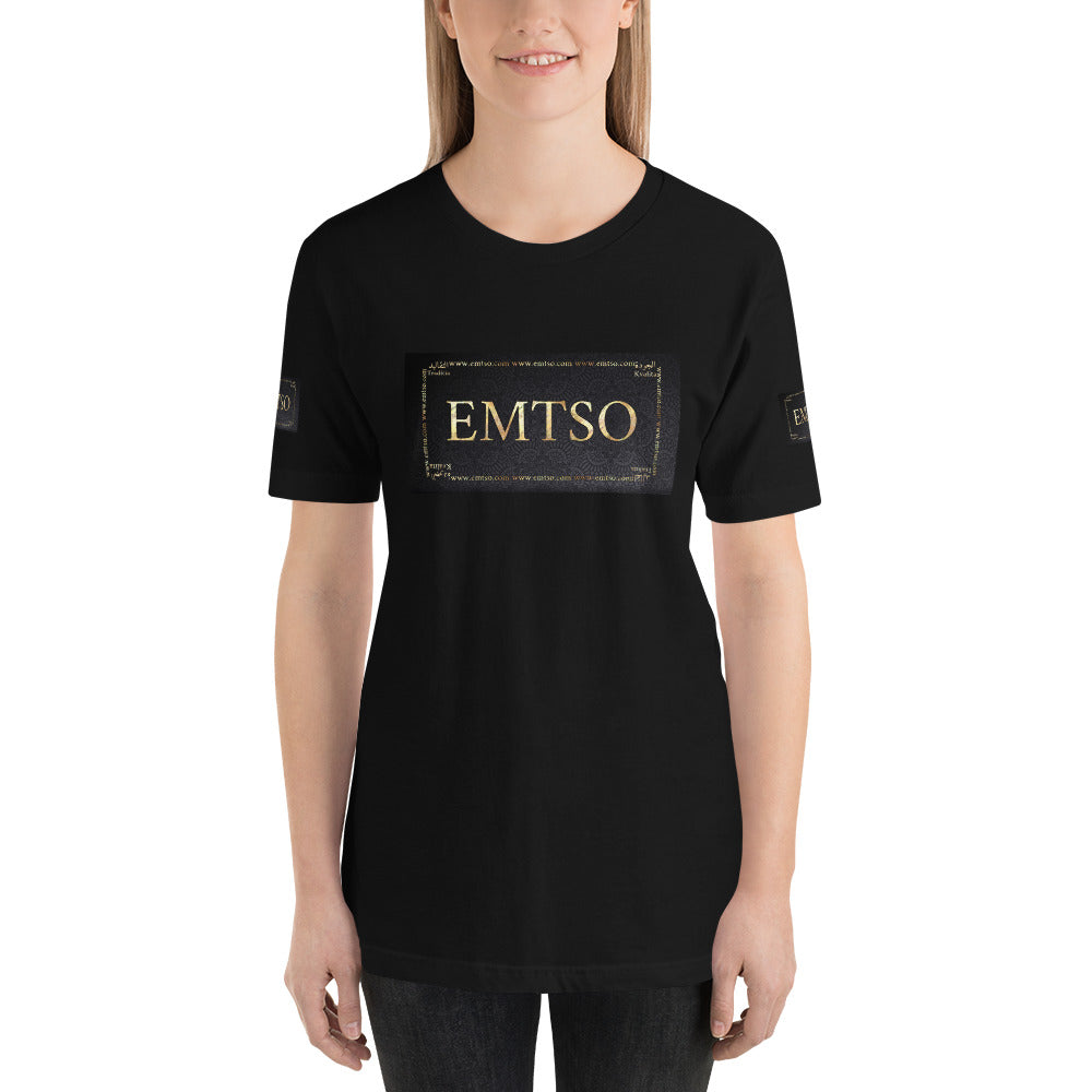 Short-Sleeve Unisex T-Shirt with EMTSO logo