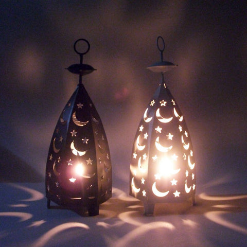 Candle Holder Moroccan Style Metal Candle Holder Candlestick Creative Hanging Lantern Bridal Vintage Candlesticks Home Decor