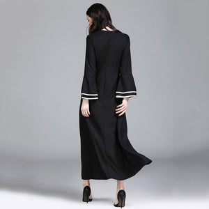Women Long Formal Dress Abaya Jalabiya