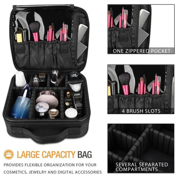 PROFESSIONAL TRAVEL COSMETIC BAG ORGANIZER