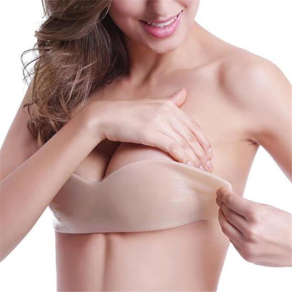 Bra Self Adhesive Invisible Bra (FREE SIZE)
