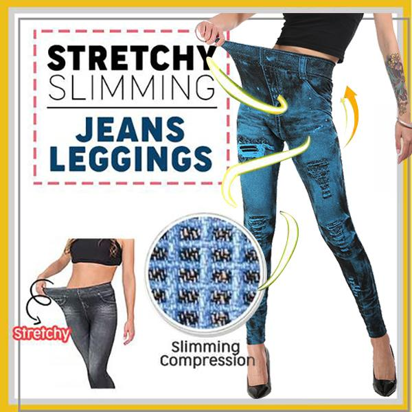 Stretchy Slimming Jeans Leggings