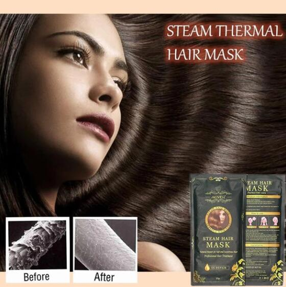 7 DAYS Steam Thermal Hair Mask (2pcs)