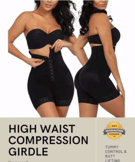 PREMIUM High Waist Compression Girdle Bodysuit BodyShaping Panties-HOT