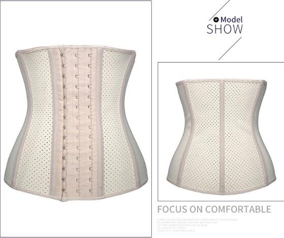 PLUS SIZE 16 STEEL BONED WAIST TRAINER BANDAGE