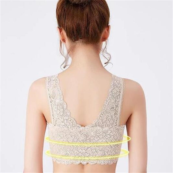 2019 Hot Products Front Cross Side Buckle Wireless Lace BRA SALE