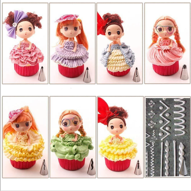 Artistic Pastry Nozzles Set