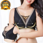 EXTRA-WIDE SEAMLESS WIRELESS PLUS SIZE BRA