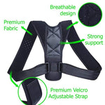 Posture Adjustable Corrector Therapy Back Brace for Men & Women