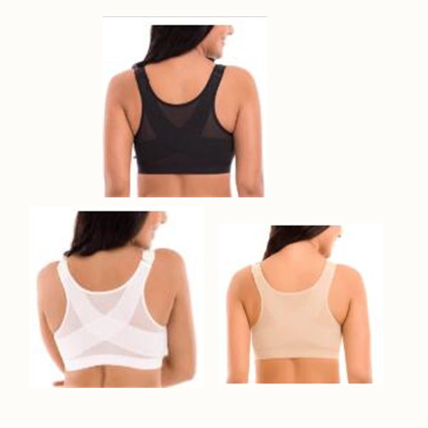 Miracle Front Zip Full-Freedom Bamboo Zip sports bra