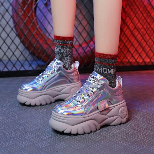Chunky cool ladies sneakers