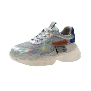 Holographic Reflective Shoes Perfect Sneakers 2019