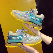 Load image into Gallery viewer, Chunky cool ladies sneakers