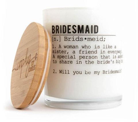 Sugared Citrus Bridesmaid Candle