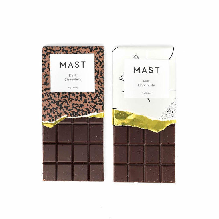 Mast Milk & Dark Chocolate Bars