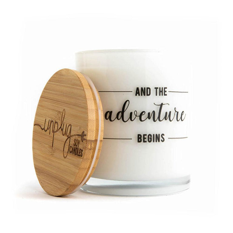 And the Adventure Begins Candle (Soy/Sugared Citrus/11.5 oz)