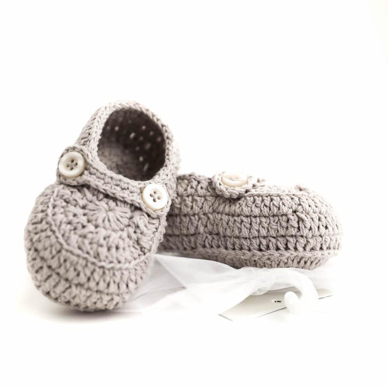 Crochet Booties (0-12 mths)