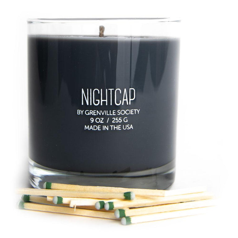 Greenville Society Nitecap Candle (Soy/9 oz)
