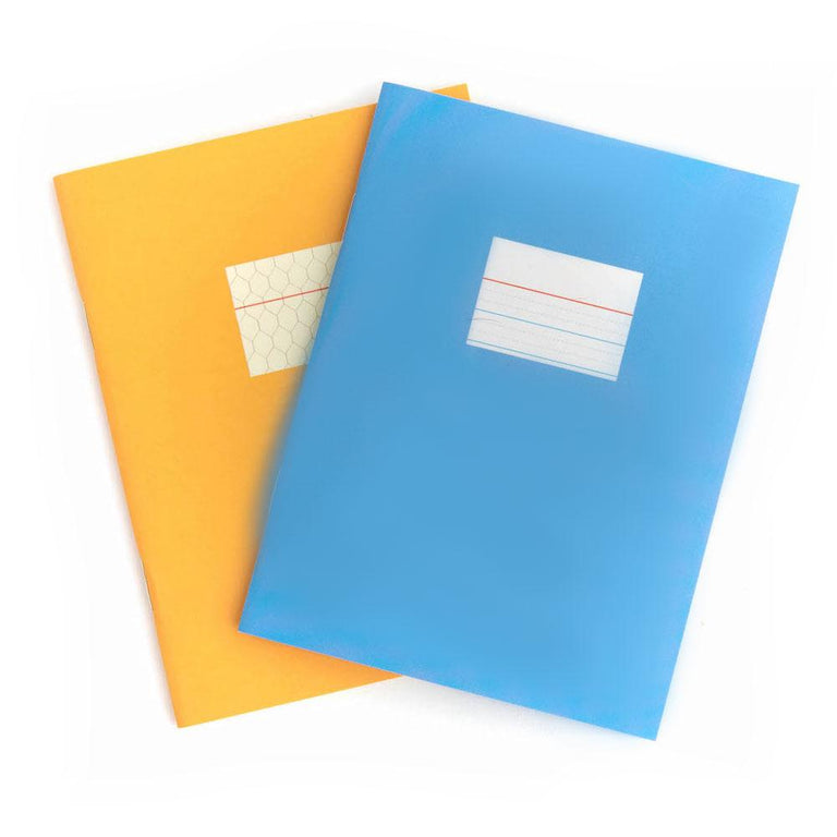 Blue/Yellow Mini Books (48 Graphic pages)