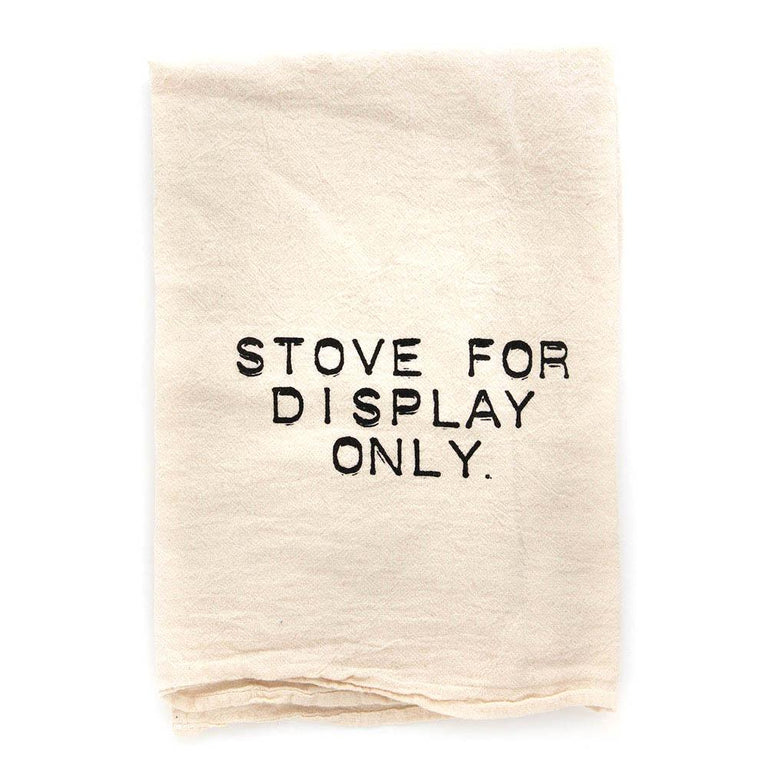 Stove Display Kitchen Towel