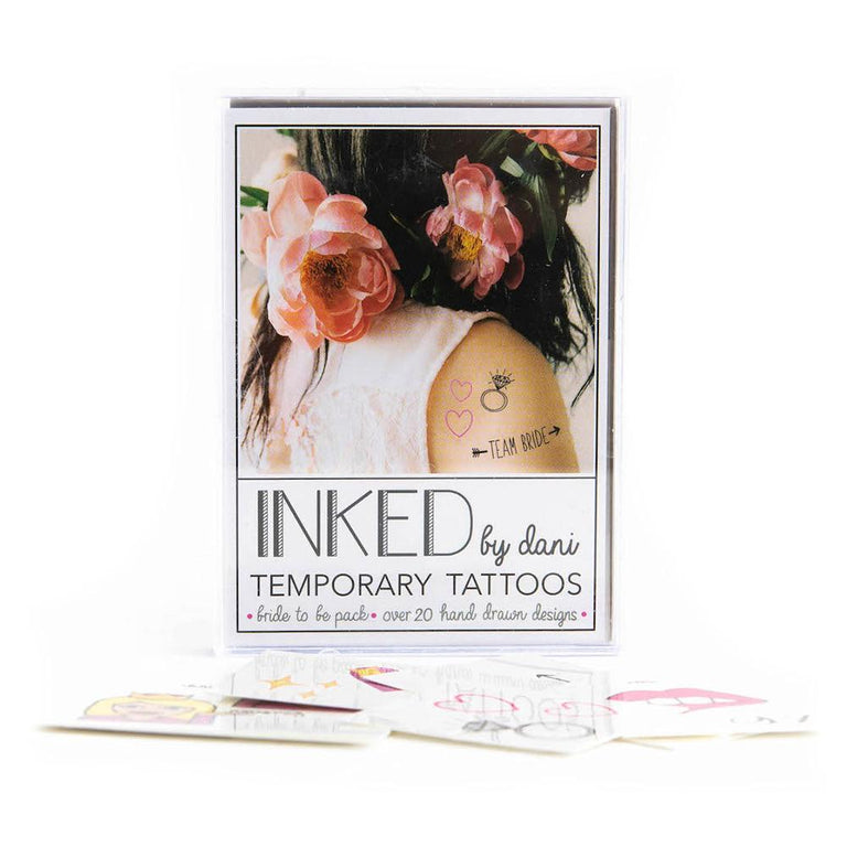 Temporary Bride Tattoos