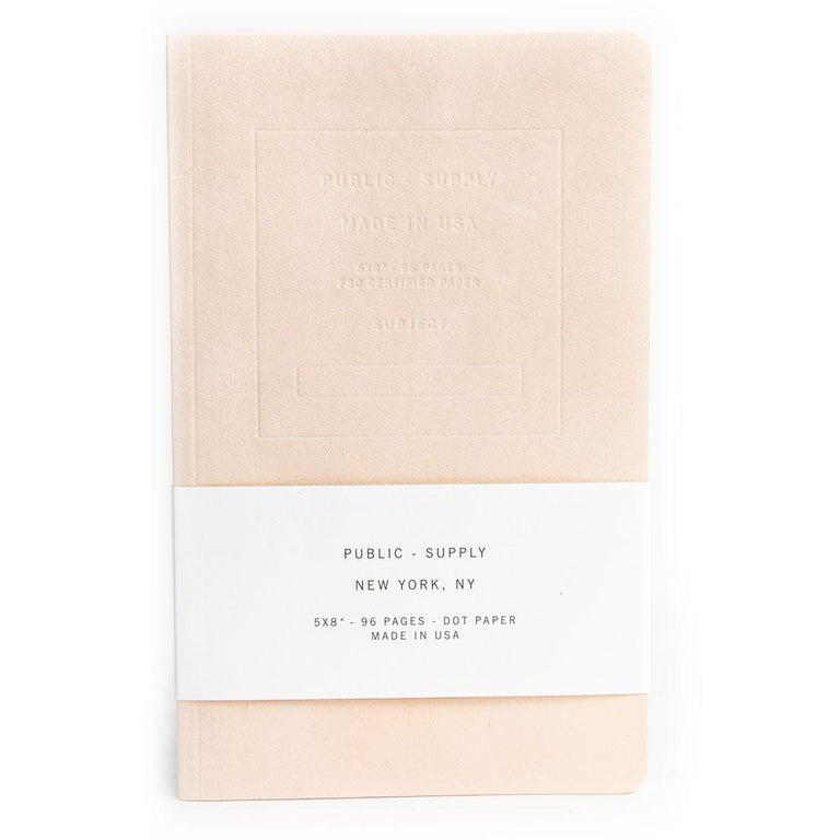 "Public-Supply Velvet Notebook (5 X 8""/96 pgs/Dot)"
