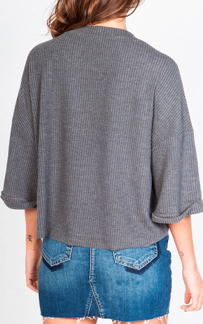 KNIT RELAX FIT TOP