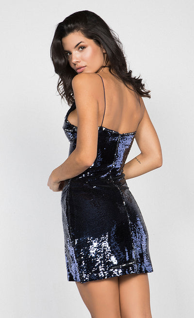 SEQUIN CAMI BODYCON DRESS