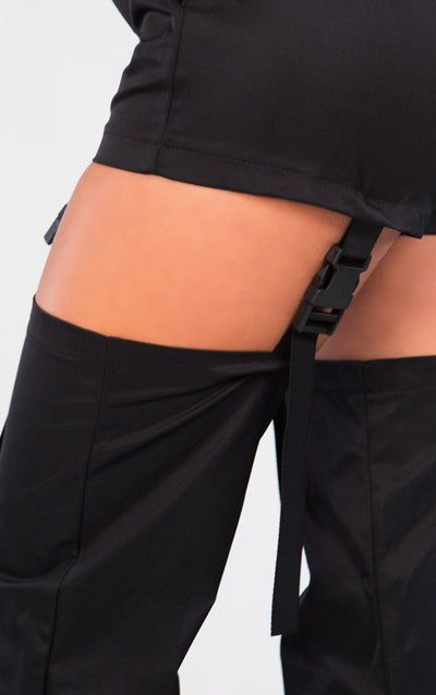DETACHABLE BUCKLE JOGGER PANTS