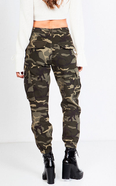 MILITARY JOGGER CARGO PANTS