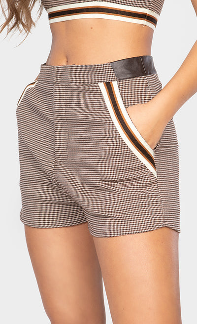 STRIPE CONTRAST SHORT