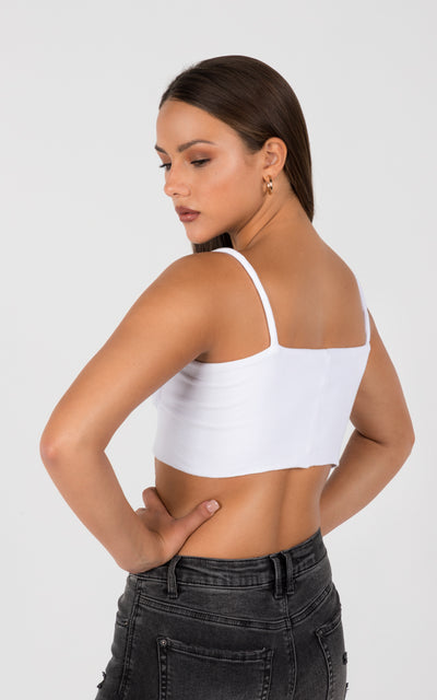UNDERWIRE CAMI CROP TOP