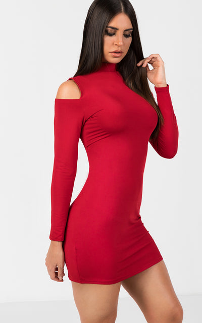 CUTOUT BODYCON DRESS