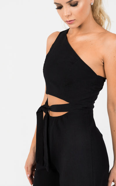 CUT OUT PALAZZO JUMPSUIT