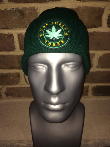 Top Shelf Toker Winter Hat (Green)