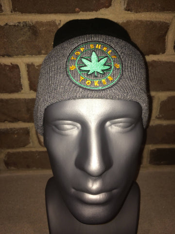 Top Shelf Toker Winter Hat (Black/Gray)