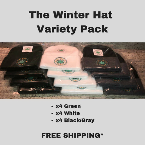 The Winter Hat Variety Pack - 12 count