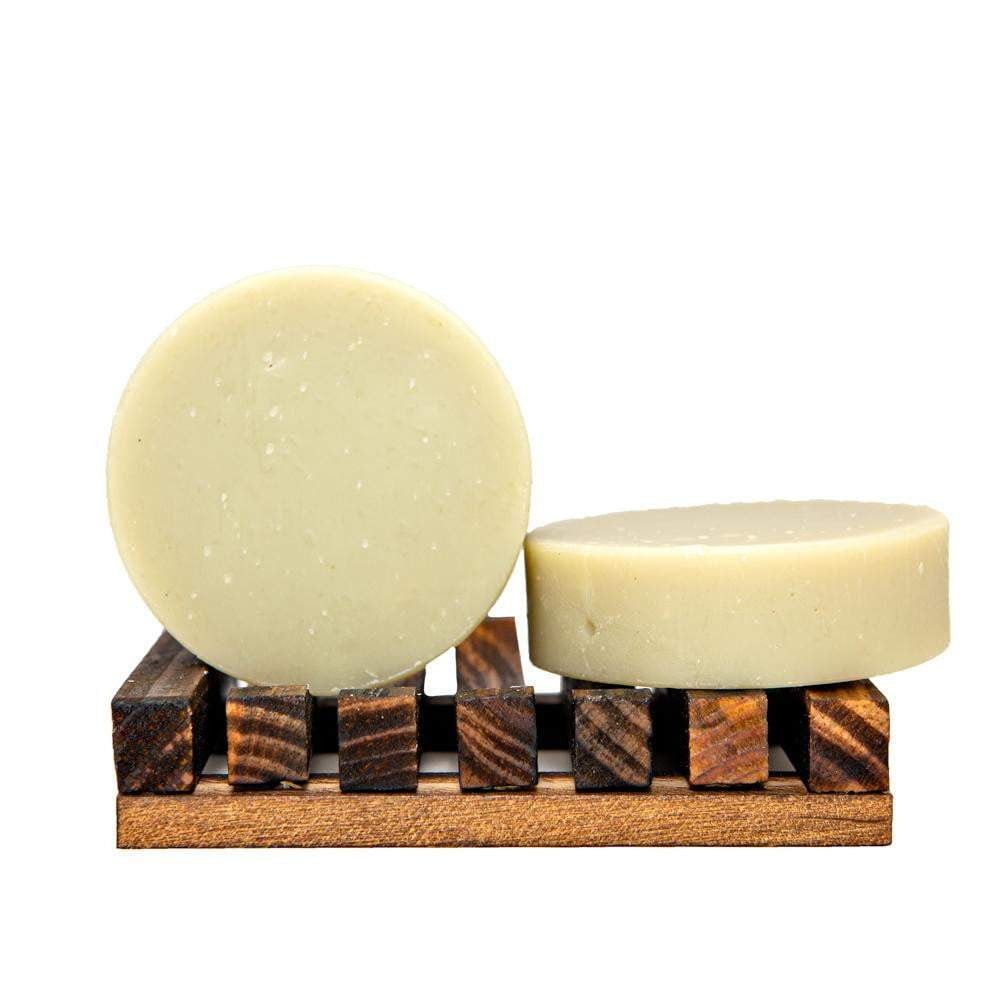 Face soap bar. Rich with hemp oil and French green clay. Smooth your skin with tea tree and lavender essential oils.