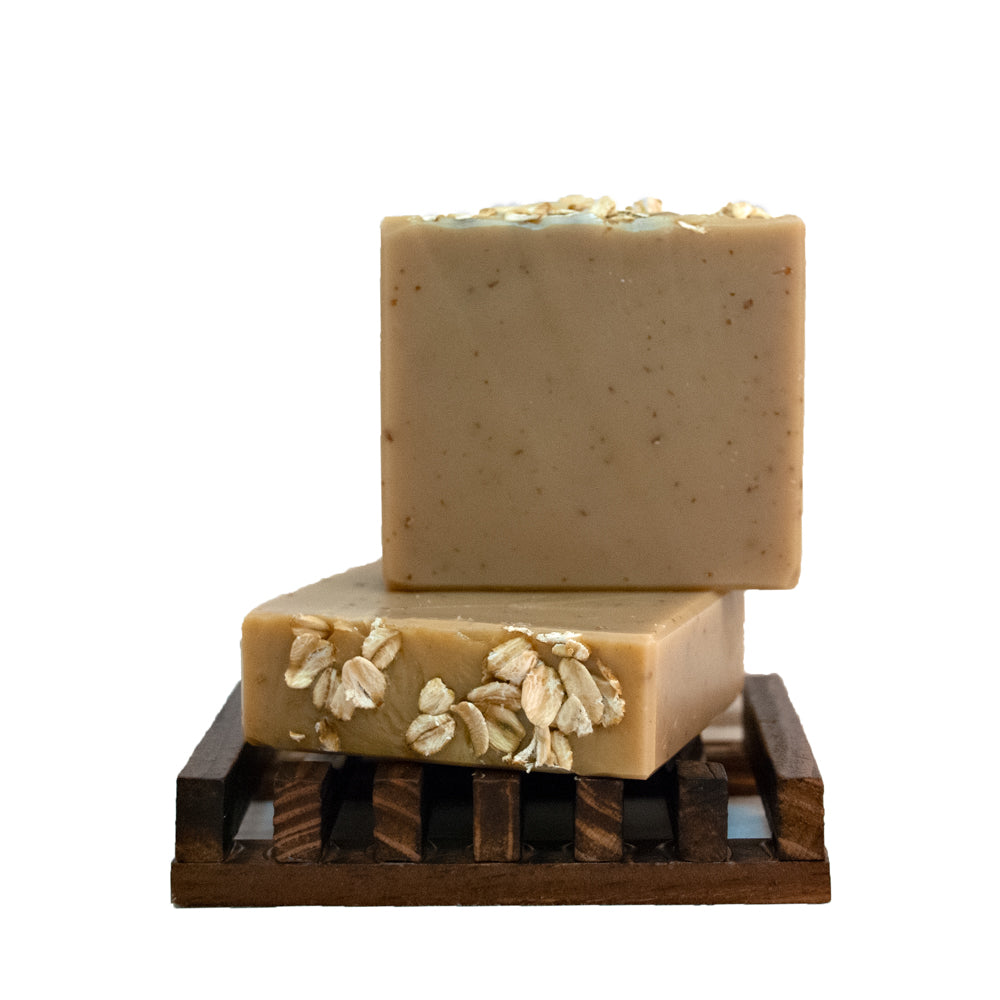 Almond and Oatmeal Soap