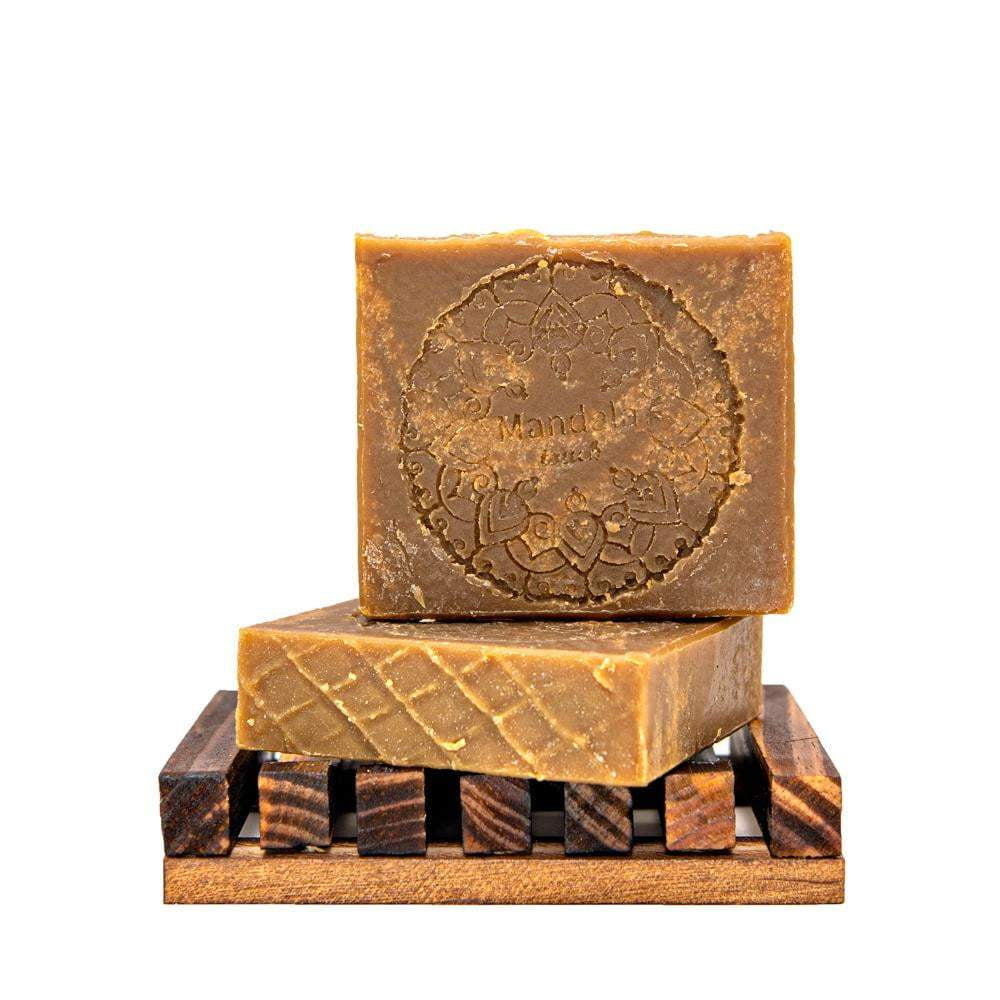 Pine tar soap bar grate choice for people with eczema, psoriasis or acne.