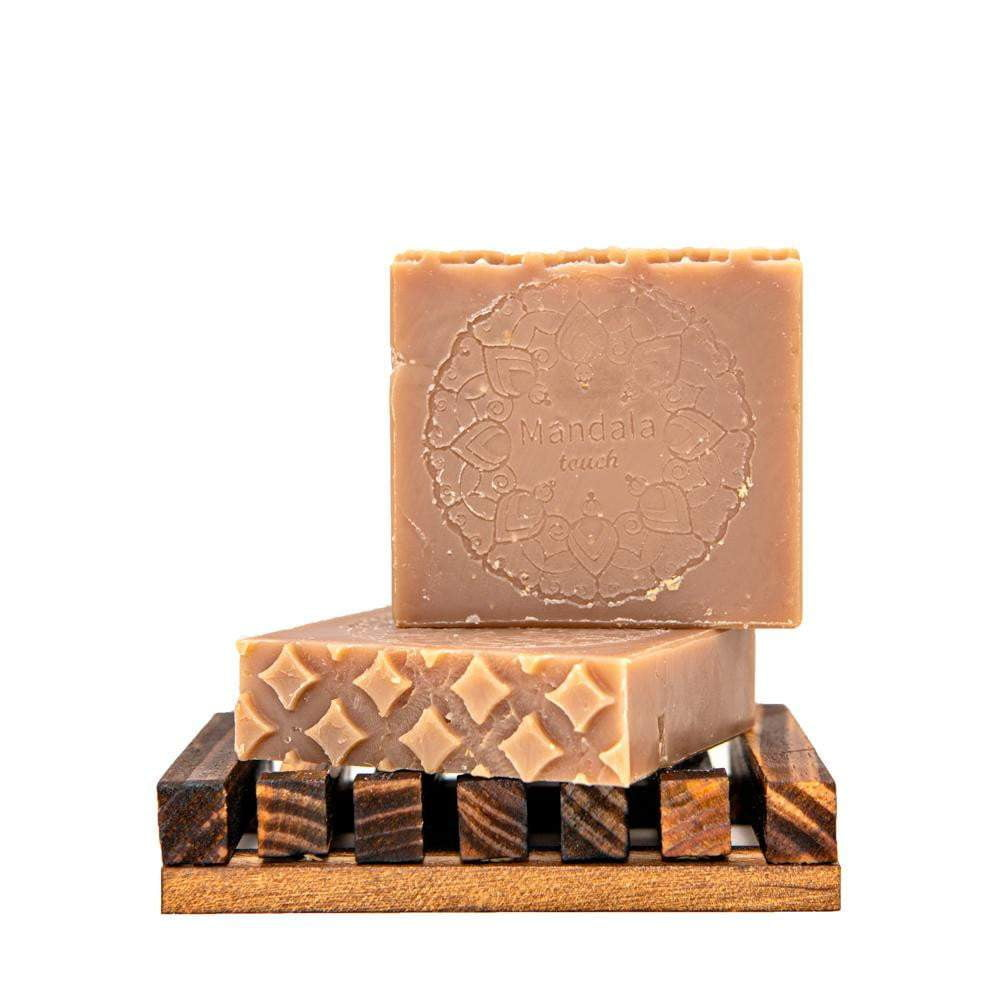 Enjoy sensual aroma of Vanilla and Cedarwood soap bar, for your evening showers.