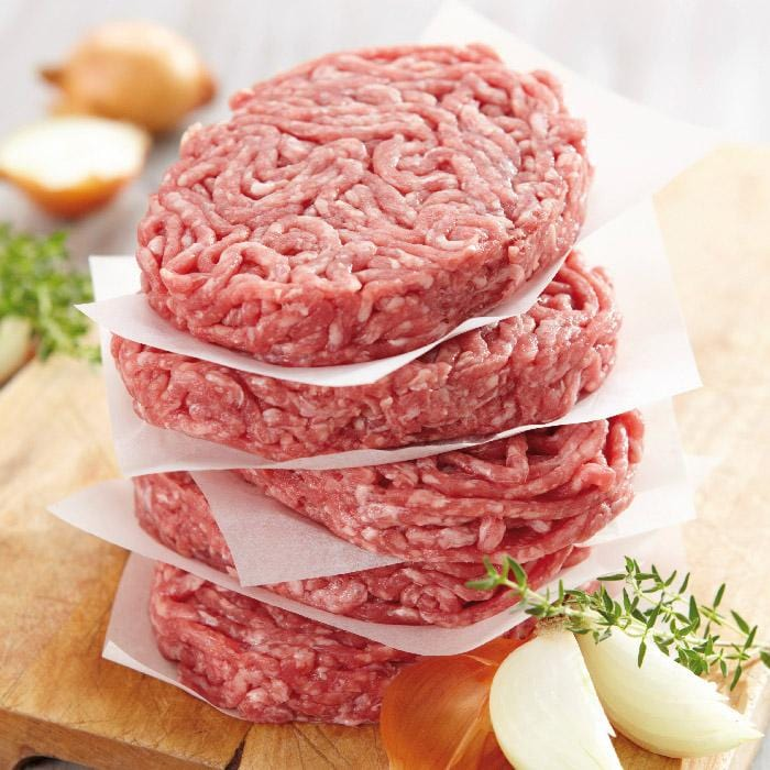 Steak haché 15%, 4x150g ⎮ Origine Charolaise