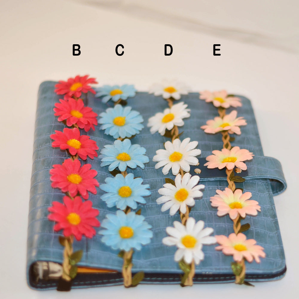 daisy planner band, planner elastic band