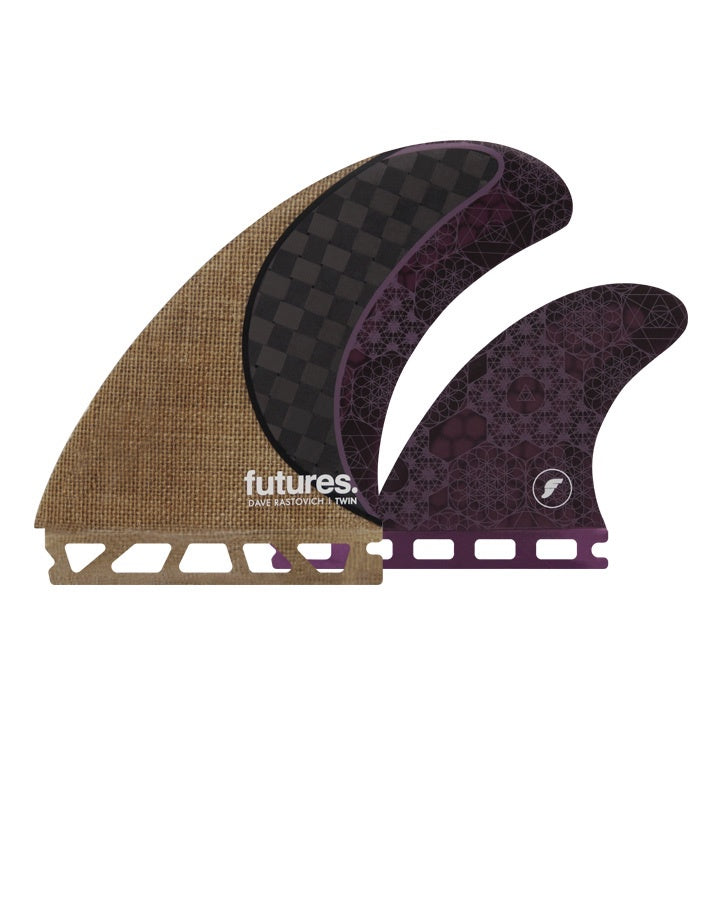 FUTURES // RASTA TWIN +1 - JUTE/CARBON/PURPLE