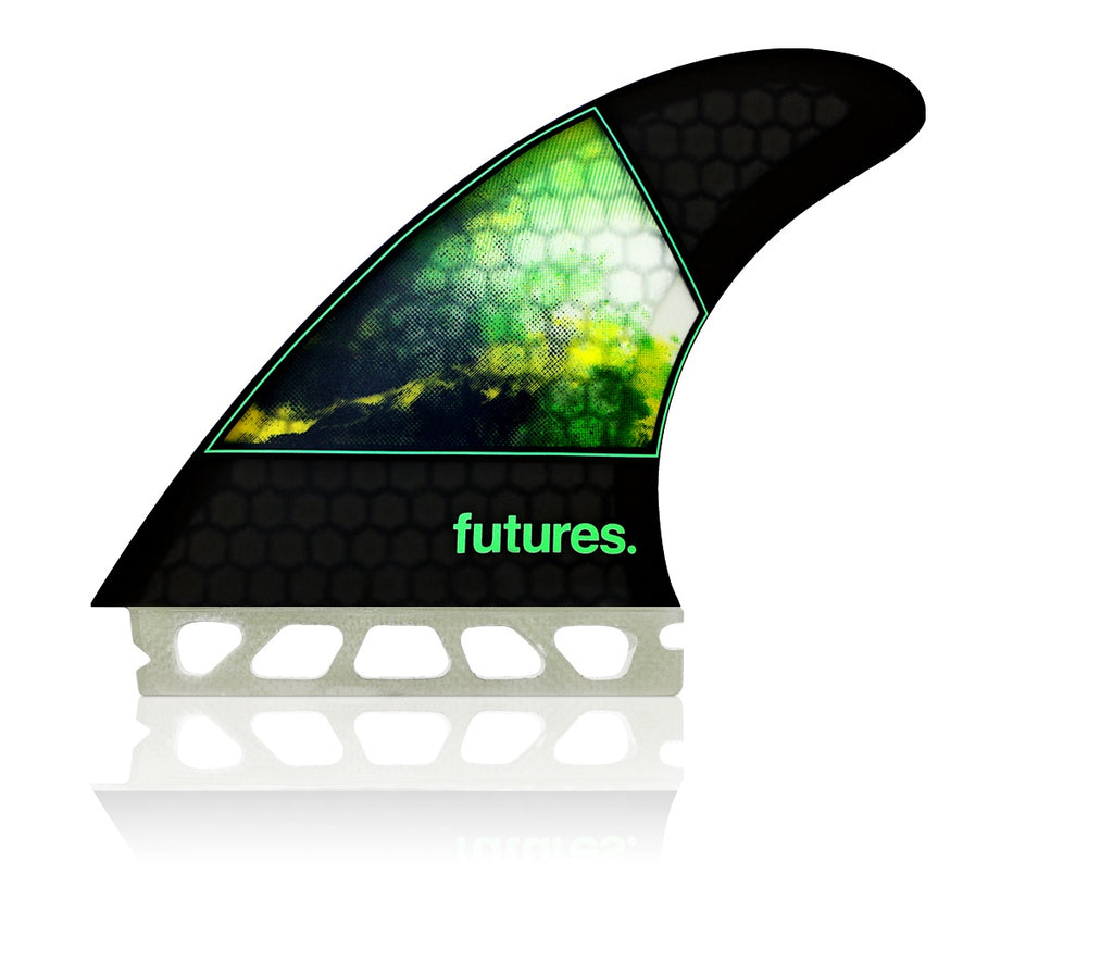 FUTURES // JORDY-1 LARGE HC THRUSTER - GREEN