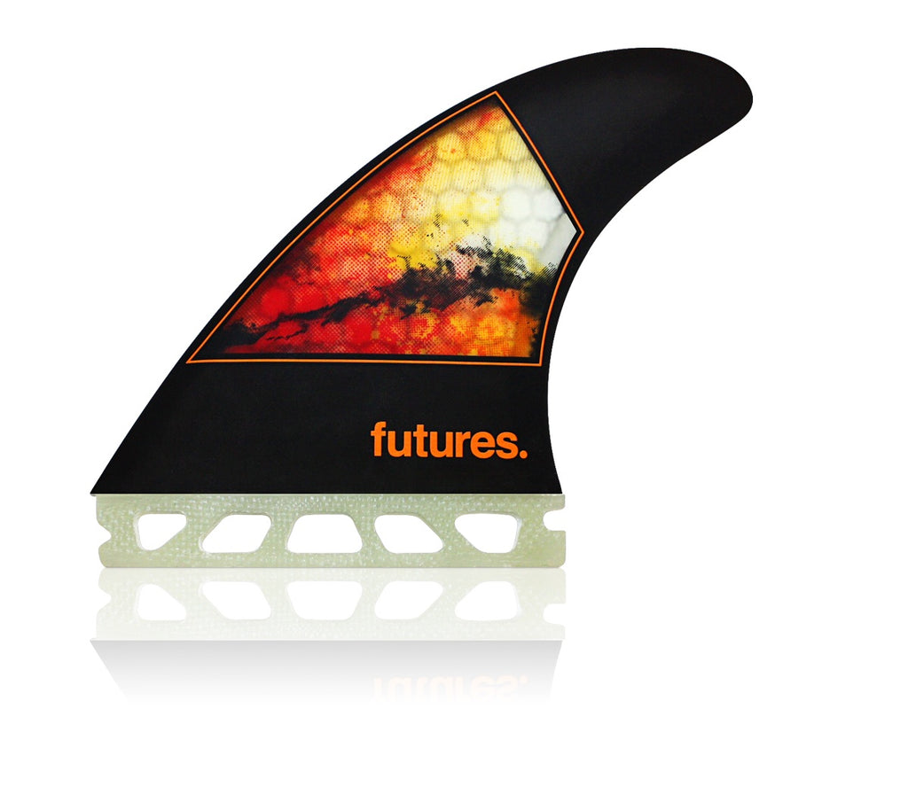 FUTURES // JORDY-1 MEDIUM HC THRUSTER - ORANGE